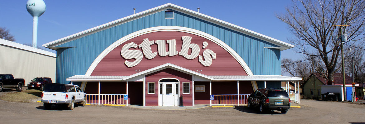 Welcome To Stubs In Battle Lake!